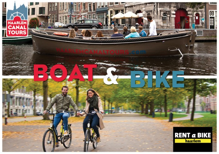 Boot & Bike arrangement Haarlem