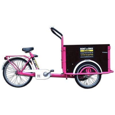 Cargobike Farbe pink