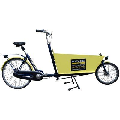 Lastenrad mit 2 Rädern. Geeignet für 2 Kinder