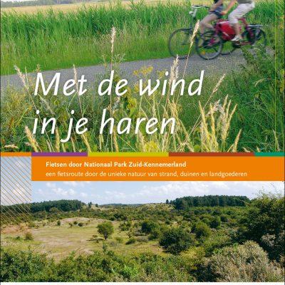 fietsroute boekje met de wind in de haren