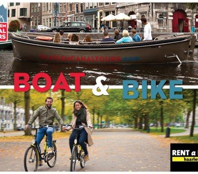 Boat and Bike arrangement