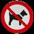 verboden hond in urban arrow bakfiets